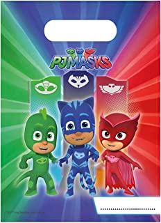 Procos 5PR88637 6Party Bags Pj Masks Entertainment One, multicolor