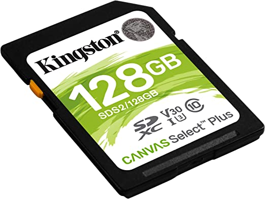 Kingston 16gb Microsdhc Canvas Select Plus 100mb Computers Accessories