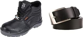 ACME Boxylic Leather Safety Shoes and Leather Belts AA-03-32_Boxylic