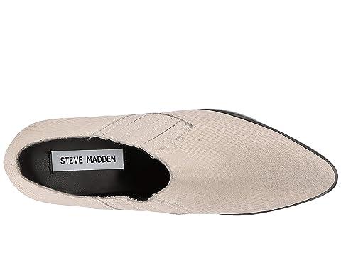 Black LeatherTaupe Bootie Korral Steve Snake Madden SuedeWhite qwAnBxnt4