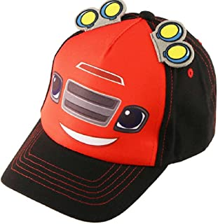 Toddler Boys Blaze And The Monster Machines Cotton Adjustable 5 Panel Baseball Cap