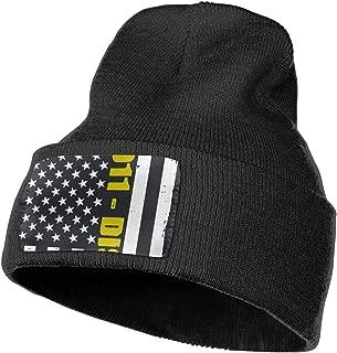 Ruin American Flag 911 Fashion Knitting Hat for Men Women, 100% Acrylic Acid Mas Beanie Hat