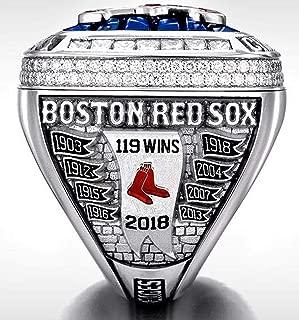 OMG-LIFE Red Sox (Steve Pearce) 2018 Replica Baseball Championship Ring Size 8-13