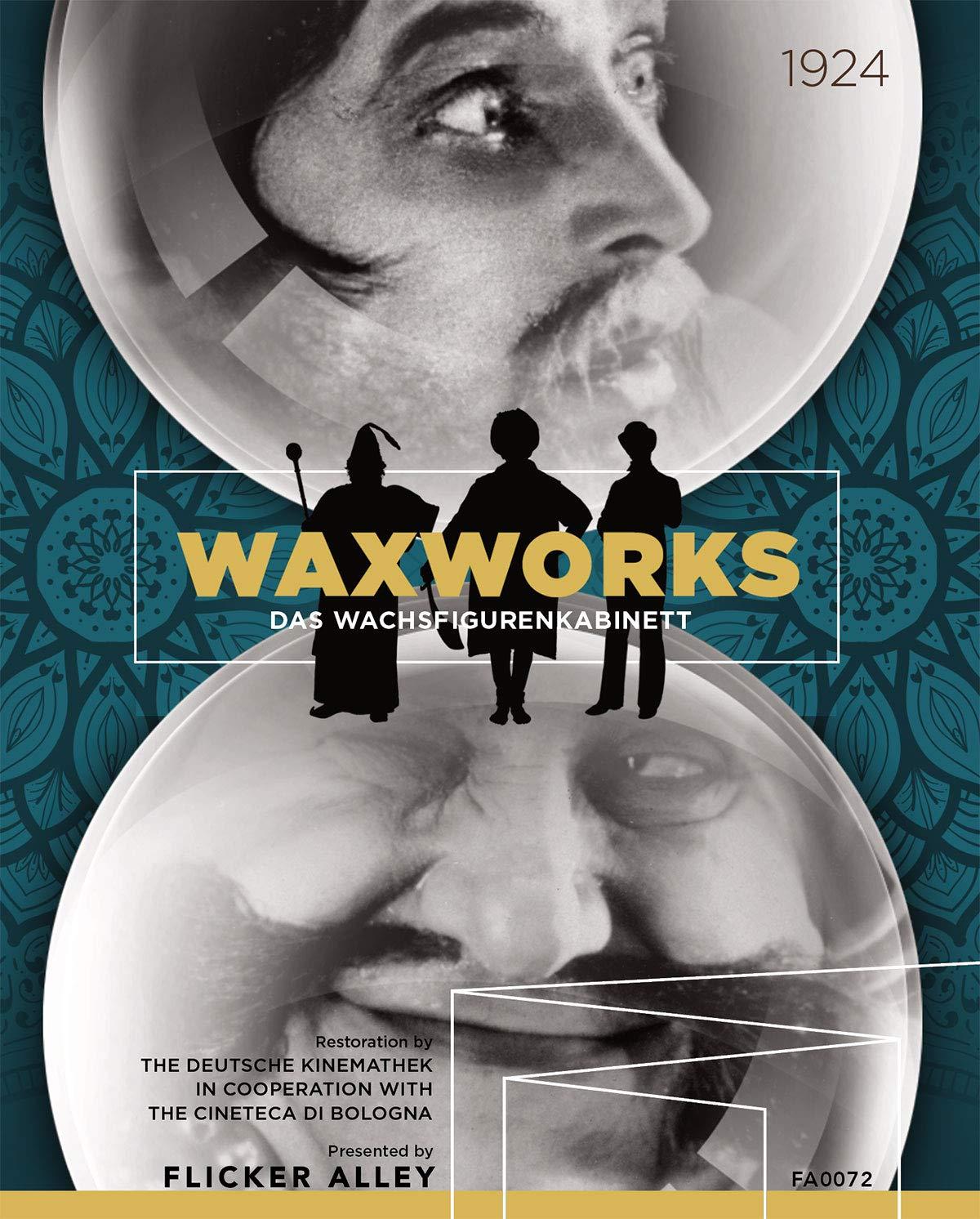 Amazon Com Waxworks Flicker Alley Blu Ray Dvd William Dieterle Emil Jannings Conrad Veidt Werner Krauss Olga Belajeff Paul Leni Movies Tv