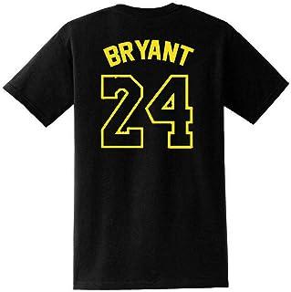 824 Printemps Et Les Hommes De V/êtements De Sport en Coton dautomne Costume Fan No SMLSMGS Col Rond T-Shirt /À Manches Longues Los Angeles Lakers Kobe Bryant No Color : B, Size : S