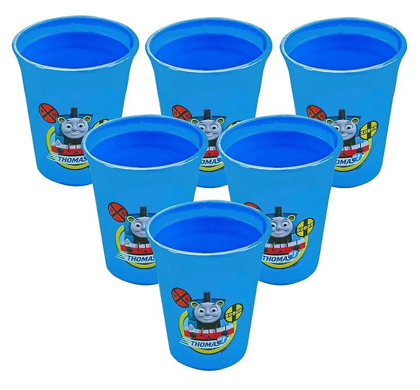 Thomas the Tank Engine TTTV-N270 6-Pack 12 oz BPA-Free Plastic Reusable Kids Cups, Blue