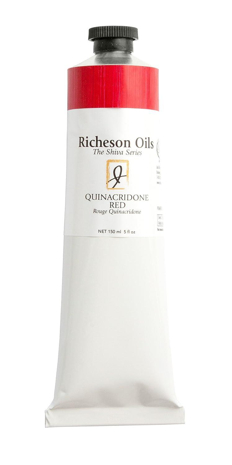 Jack Richeson 5 Oz Artist Oil Color,Quinacridone Red