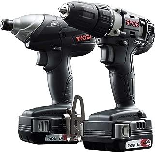 リョービ(RYOBI) コンボキット BCK-1420 充電式インパクトドライバー・ドライバードリル・電池パック 14.4V 688502A