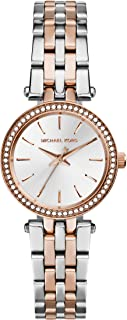 Michael Kors Petite Darci Three-Hand Watch with Glitz Accents, 26mm