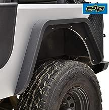 EAG Steel Rear Fender Flare Armor Fit for 76-86 Jeep Wrangler CJ7