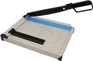 Cortador de palanca A4 compacto, cortador de papel de metal