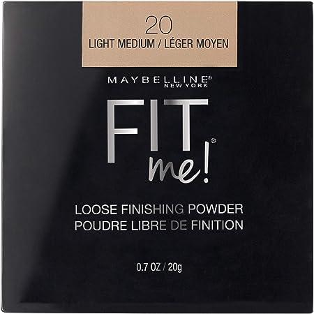MAYBELLINE Fit Me Loose Finishing Powder, Light Medium, 0.7 oz.