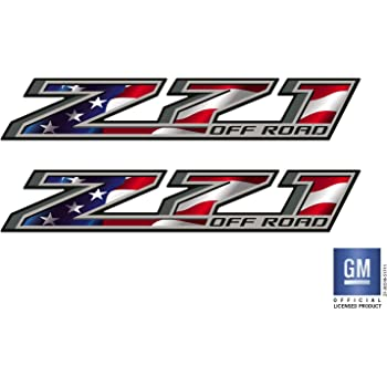 Z71 off road Emblem Badge Plate Decal for 2018 COLORADO GMC Chevy Silverado 2014 2015 2016 2017 2018 5L