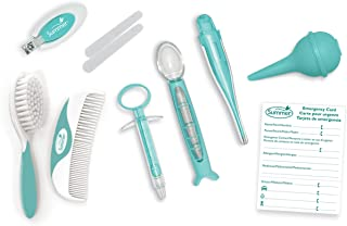 Summer Health and Grooming Kit, Teal/White