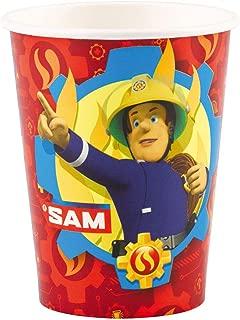 amscan International 9902176 266 ml Fireman Sam Paper Cups
