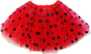So Sydney Kids, Adult, or Plus Size Polka DOT Tutu Skirt Halloween Costume Dress