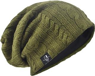 Męska czapka z daszkiem zimowa narciarska workowata B09