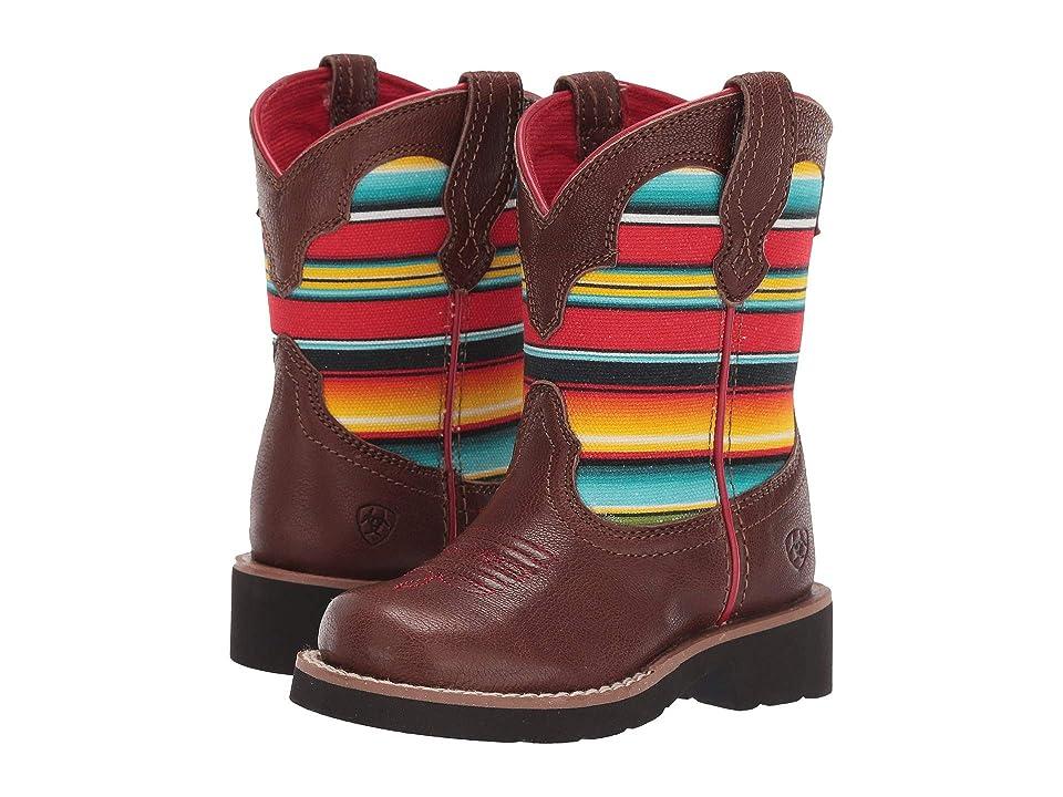 Ariat Kids Fatbaby Bell (Toddler/Little Kid/Big Kid) (Sorrel/Serape Print) Cowboy Boots
