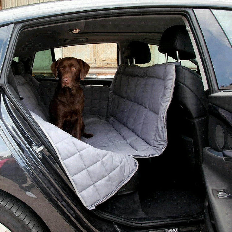 Doctor Bark 3Seat Car Predection, Large, Grey