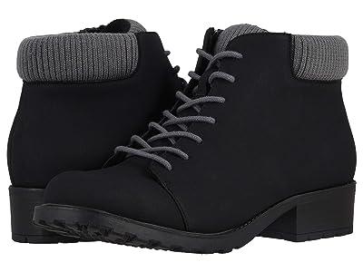 Trotters Becky Low (Black/Grey) Women