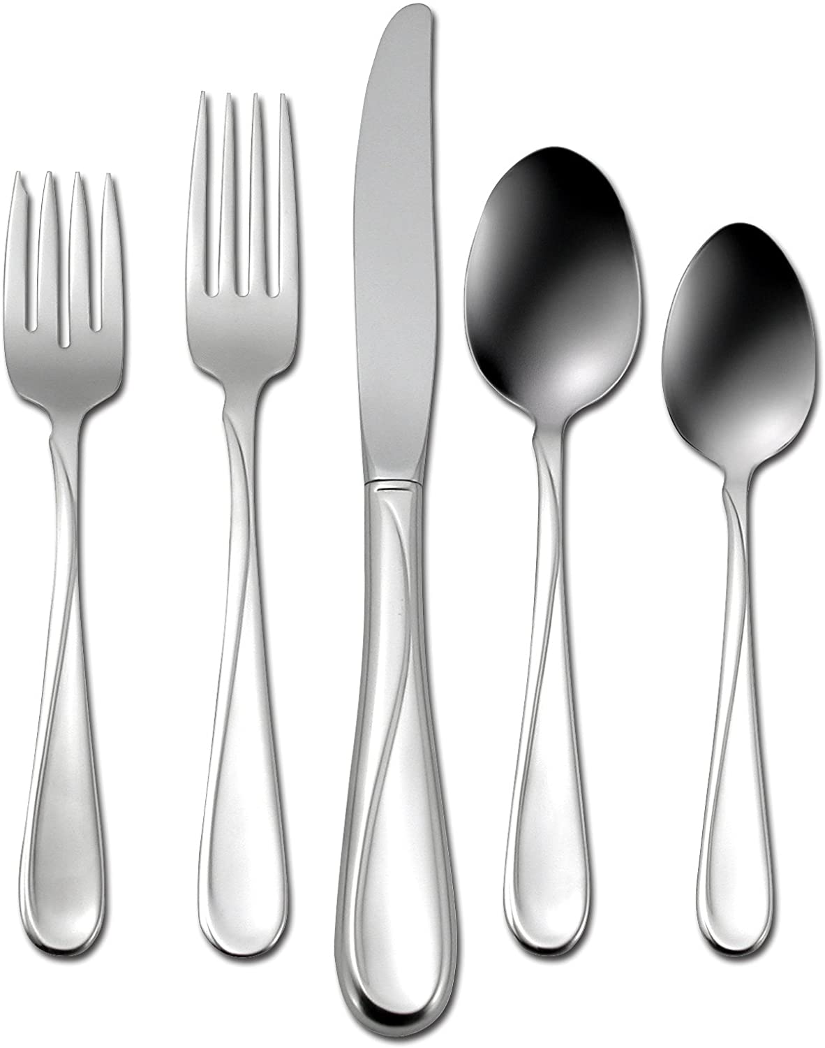 Oneida Flight 45-Piece Stainless-Steel Flatware Service Set Choice for Max 63% OFF