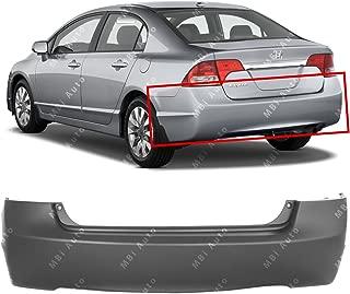 2008 honda civic rear bumper cover painted