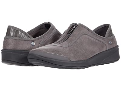 Bzees Glaze (Grey Leather Fabric) Women