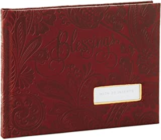Leather Paisley Blessings Guest Book Guest Books