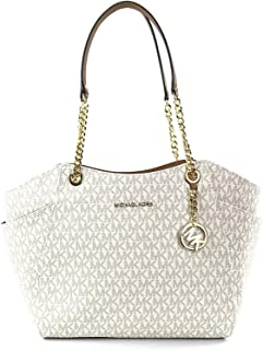 Michael Kors Women's Jet Set Travel Large Chain Shoulder Bag