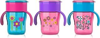 Philips AVENT 自然原生系列饮水杯,9 盎司,女童款