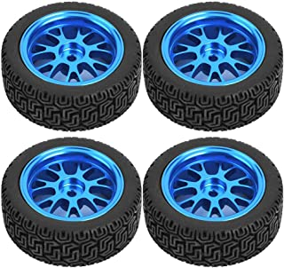 Team Losi Drfeify 2pcs pneus avec Jantes pour Redcat Carson HSP HPI Kyosho Black Hobao 1//8 RC Camion VRX