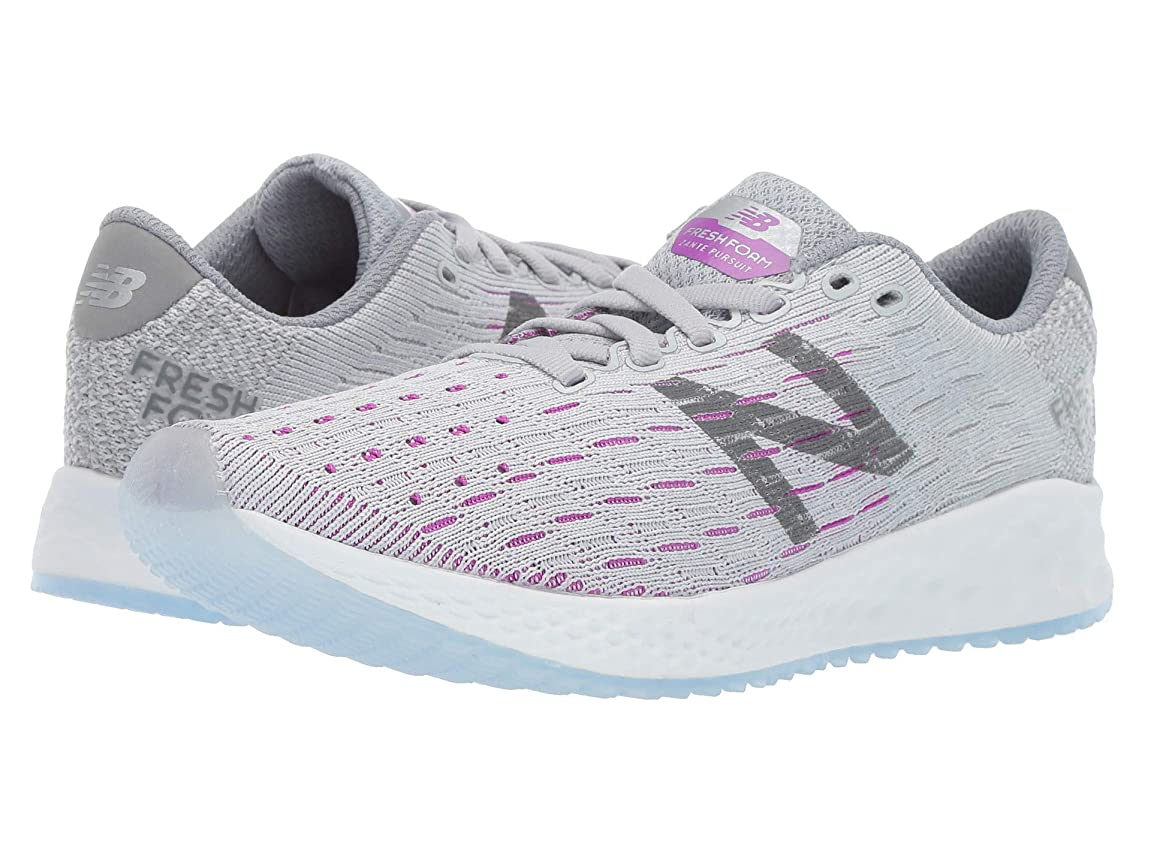 [ニューバランス] レディースランニングシューズ?スニーカー?靴 Fresh Foam Zante Pursuit v1 Light Aluminum/Steel 5.5 (22.5cm) D - Wide [並行輸入品]