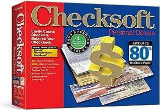 Avanquest Checksoft Personal Deluxe, Free Checks, works with Quicken, Microsoft Money, Quickbooks