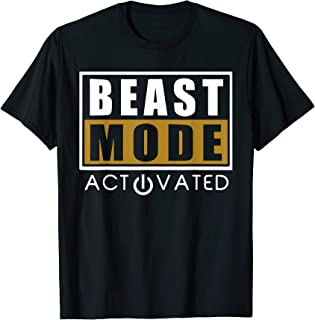 Beast T Shirt - Beast Activated Workout Gym Mode TShirt