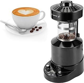 Koffiebrander, Elektrische Luchtkoffiebrander Automatische Gebakken Braadmachine Food Grade Roestvrijstalen Koffiezetacces...