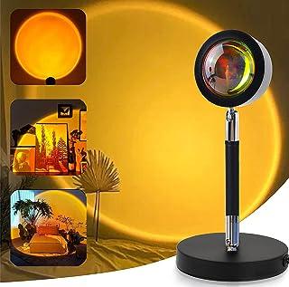 ORIGINAL Sunset Projector Lamp Sunset Sun Projection Lamp LED 180 Degree Rotation Romantic Atmosphere Night Light Creative...