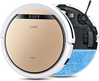 ILIFE V5s Pro, 2-in-1 Robot Vacuum and Mop, Slim, Automatic Self-Charging Robotic Vacuum, Daily Schedule, Ideal for Pet Ha...