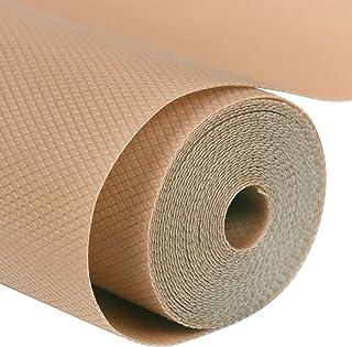 Labnoft Multipurpose Washable Anti Slip EVA Mats and Liners Sheet, 300x45 cm, Beige, Pack of 2