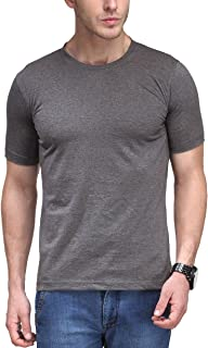 Scott International Men's Solid Regular Fit T-Shirt