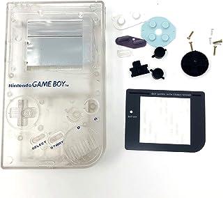 Coque de Rechange pour Console Nintendo Gameboy Classic 1989 Go DMG-01 Blanc Transparent