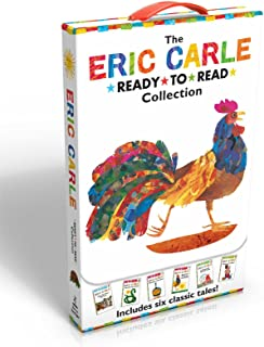 The Eric Carle Ready-To-Read Collection: Have You Seen My Cat?/The Greedy Python/Pancakes, Pancakes!/Rooster Is Off to See...