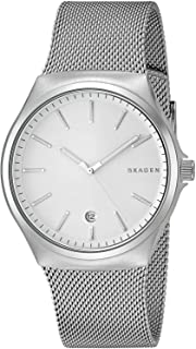 Skagen Sundby Men's Silver Dial Stainless Steel Band Watch - SKW6262
