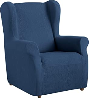 Amazon.es: funda sillon orejero azul