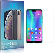 The Grafu Screen Protector for Huawei Honor 9I, Drop Fall Protection, 9H Hardness, Anti Scratch Tempered Glass Screen Protector for Huawei Honor 9I, 2 Pack