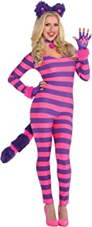 Suit Yourself Lady Cheshire Kitty Cat Halloween Costume for Women, Includes Accessories