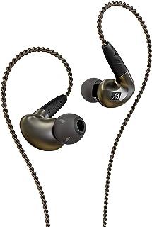 MEE audio - Pinnacle P1, Audiophile, In-Ear, Bullerisolerande, hörlurar med utbytbar kabel, med mikrofon och fjärrkontroll...