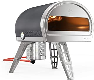 ROCCBOX Portable Outdoor Pizza Oven - Gas or Wood Fired, Dual-Fuel, Fire & Stone Outdoor Pizza Oven