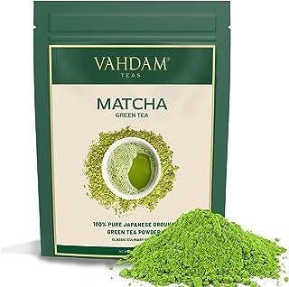 VAHDAM, Matcha Green Tea Powder SUPERFOOD (50 grams) 100% Pure Authentic Japanese Matcha Powder | Classic Culinary Grade G...