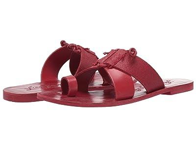 Free People Sophie Slip-On Sandal (Red) Women