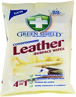 Greenshield Conditioning Leather Wipes - Pack of 50
